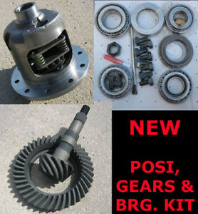 Gm 8 2 Chevy 10 bolt Eaton Posi Gears Bearing Kit 3 08 New