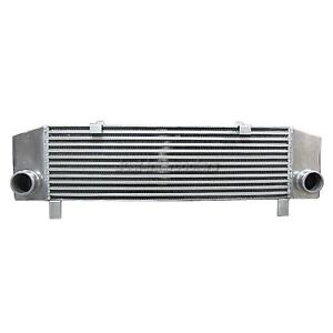 Cxracing 2 5 Inlet outlet Turbo Intercooler 34x8x3 5 For Eclipse 1g Laser Talon