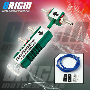 In Cabin Cnc Universal Manual Adjustable Turbo Boost Controller 30psi Green