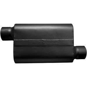 Flowmaster 54033 12 30 Series Delta Force Race Muffler 4 Offset In offset Out