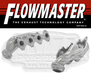 Flowmaster 814226 Ceramic Coated Shorty Headers 05 10 F150 F250 Expedition 5 4l