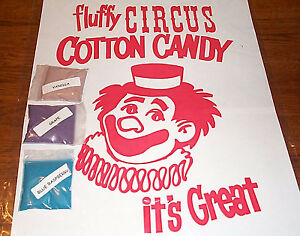 3 Cotton Candy Mix W Sugar Flavoring Flossine Flavored Floss Choose From 15