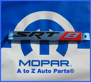 New 2006 2010 Dodge Charger Chrysler 300 Srt8 Rear Deck Lid Emblem Oe Mopar
