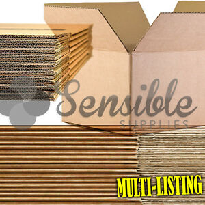Quality Single Double Wall Cardboard Boxes Postal Mailing Pack Fast Free P p