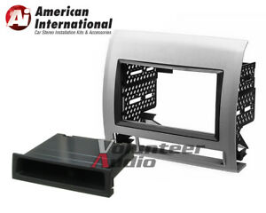 American International Toyk972s Silver Dash Install Kit For 05 11 Toyota Tacoma