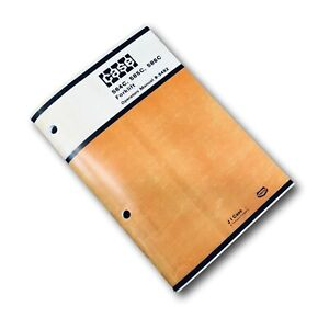 J I Case 584c 585c 586c Forklift Operators Owners Manual Operation Maintenance
