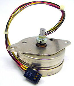 Airpax B82732 Stepping Stepper Motor 12v 36 Ohms coil 7 5 Deg step