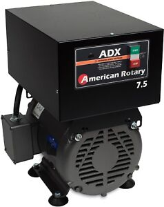 American Rotary Phase Converter Adx7f 7 5 Hp Floor 1 To 3 Phase Extreme Duty