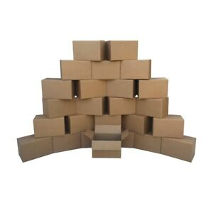Small Moving Boxes 25 Pack Size 16x10x10 Packing Cardboard Box