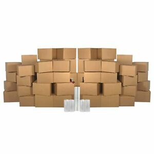 4 Room Basic Kit 55 Moving Boxes Packing Materials
