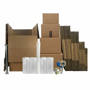 4 Room Wardrobe Kit 43 Packing Boxes Packing Supplies
