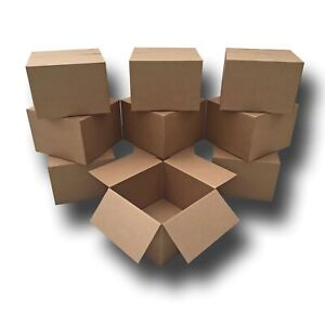 10 Extra Large Moving Boxes 23x23x16 Standard Corrugated Moving Box