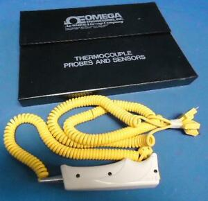 Omega Engineering Thermocouple Probe Sensors Set Type K With 3 Extra Cables
