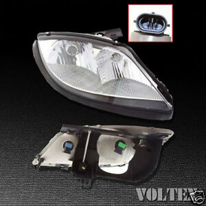 2003 2005 Pontiac Sunfire Headlight Lamp Clear Lens Halogen Passenger Right Side