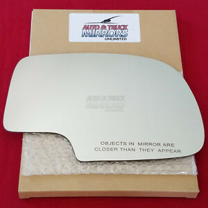 New Mirror Glass Adhesive For 99 07 Chevy Gmc Truck Passenger Side Manual