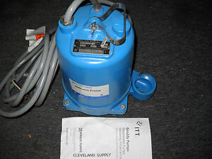 Goulds Pumps We0534h Submersible Effluent Pump 1 2 Hp 460v New Condition No Box
