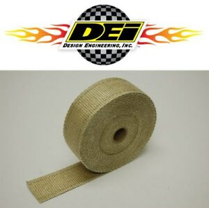 Dei 010102 2 X 50 Exhaust Manifold Header Downpipe Heat Wrap Tan High Temp