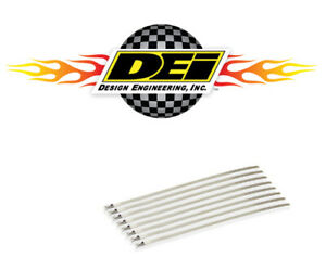 Dei 010201 Stainless Steel Locking Ties 8 8 Pack For Up To 2 Diameter Pipe