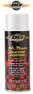Dei 010303 Exhaust Wrap Header Downpipe Silicone Coating White High Temp