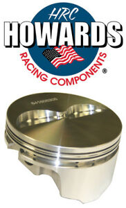 Howards Cams 841500306 406 Sbc Chevy Forged Flat Top Pistons 3 750 Stroke 6 125