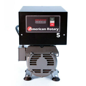 American Rotary Phase Converter Ar5f Floor Unit 5hp Made In Usa