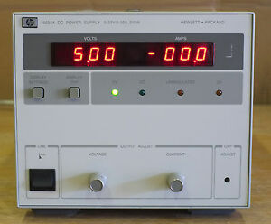 Hp 6023a agilent Lab Power Supply 0 20v 0 30a 200 Watts Tested