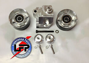 2003 04 Ford Svt Mustang Cobra Auxiliary Deuce Double Bearing Idler Pulley Kit