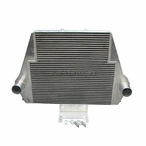 3 5 Intercooler Double Core For 99 03 Ford 7 3l Powerstroke Diesel F250 F350