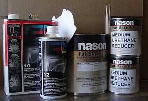 Auto Body Shop Paint Dupont nason Sterling Silver Basecoat Usc 10 Clear