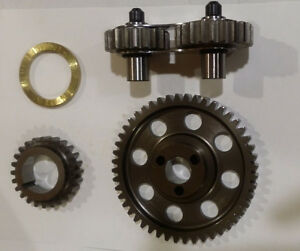 Gear Drive Noisy Steel Dual Idle Timing Set Ford 351c 351m 400 Cleveland Block