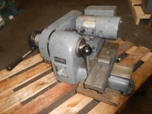 Hardinge Model Hsl 59 Super Precision Speed Lathe With Lever Type Cross Slide