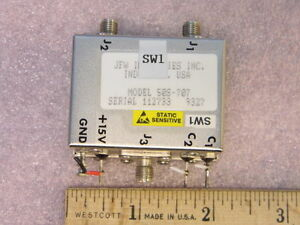 Jfw 50s 707 Sma Coaxial Rf Switch Dc 200mhz 1p2t
