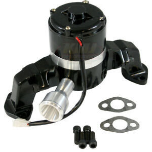 Black Billet Aluminum Big Block Chevy Bbc 396 427 454 Electric Water Pump Hv