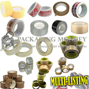 Strong Brown Clear Fragile Duct Tape Etc Multi Listing All Packing Tapes
