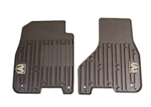 2012 Dodge Ram Truck New Front Slush Mats Bark Brown Mopar Factory Oem