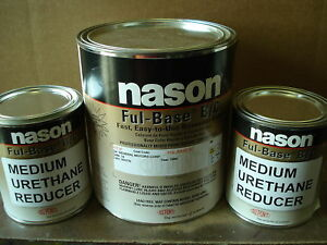 Auto Body Shop Car Paint Nason dupont Fleet White Basecoat Clearcoat Kit