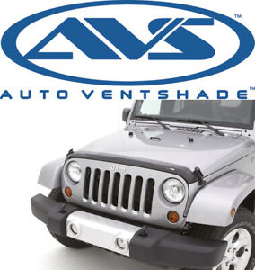 Avs 322060 Aeroskin Bug Shield Hood Protector 2007 2018 Jeep Wrangler Unlimited