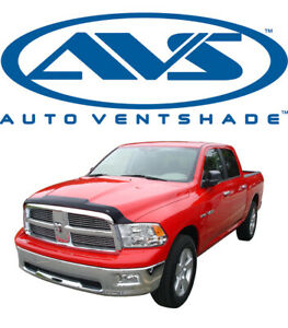 Avs 322004 Aeroskin Bug Shield Hood Protector Smoke 2009 2018 Dodge Ram 1500