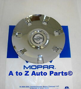 New 2005 2008 Chrysler Pacifica 19 Inch Chrome Alloy Wheel Center Cap Oem Mopar
