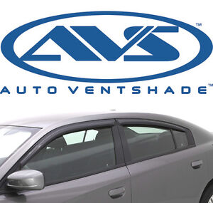 Avs 194313 In Channel Window Deflector Ventvisor 4 piece 2011 2018 Dodge Charger