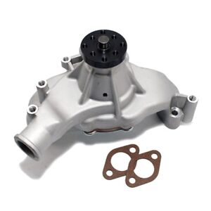 Big Block Chevy 454 Hv High Volume Long Aluminum Water Pump Natural 5 8 Pilot