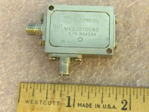 Miteq Mx2010060 Sma Rf Passive Frequency Doubler In 0 5 To 3ghz Out 1 0 6 0ghz