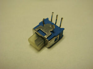 2 Tg39w010050 Apem Switch Slide On Off On Single Pole Right Angle Mount