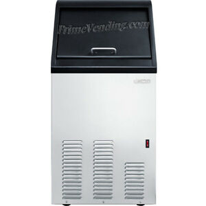 Stainless Steel Commercial Ice Maker Built in Portable Restaurant Ice Machine