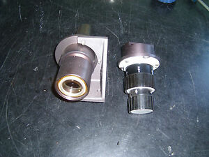 Lot Of 2 Leco Metallograph Lens Parts