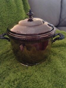 Vintage Silver Ice Bucket By Poole Bristal Silver Plate Covered Ice Bucket Charm