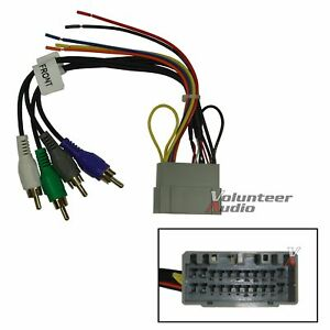 Dodge Jeep Car Stereo Cd Player Wiring Harness Wire Aftermarket Radio Install