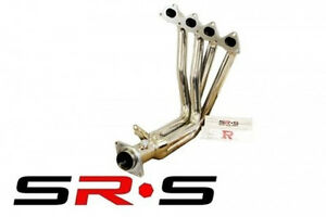 Srs Stainless Steel Headers 4 1 1 Pc Honda Civic 99 00 Si B16a2 Jdm Header Sr s