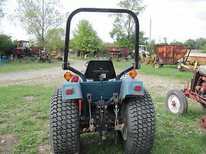 Roll Bar Rops Off Case International 245 255 Tractor 1963138c1 Foldable