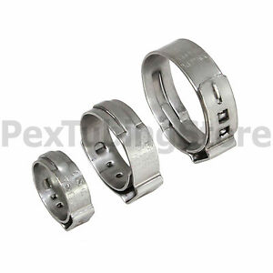 1000 1 2 Pex Stainless Steel Cinch Clamps Ssc By Oetiker Made In Usa Nsf astm